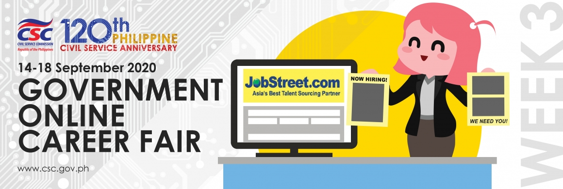 2020 GOVERNMENT ONLINE CAREER FAIR (GOCF)