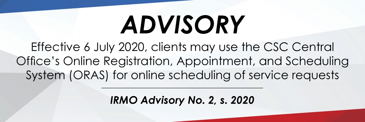 IRMO Advisory NO. 02, s. 2020