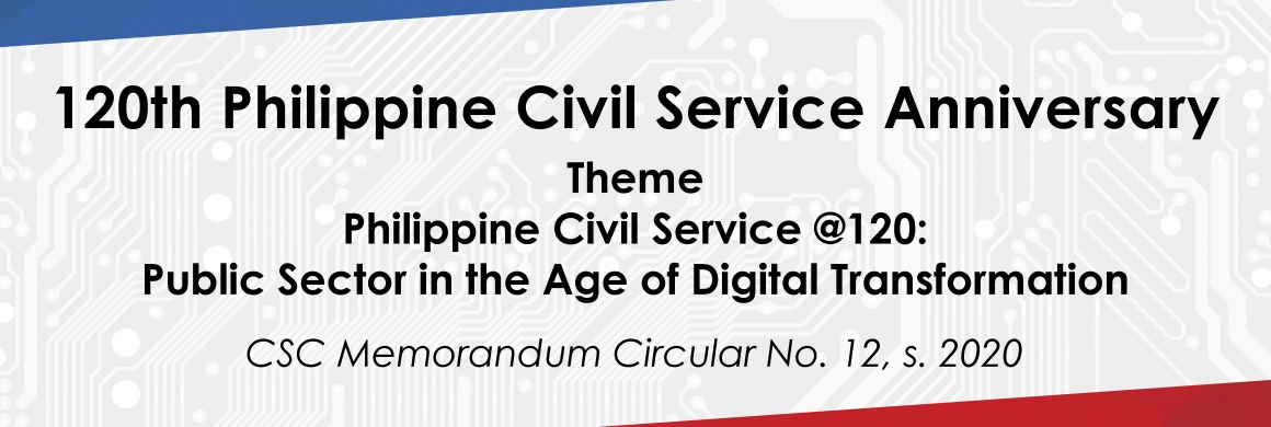 120th Philippine Civil Service Anniversary
