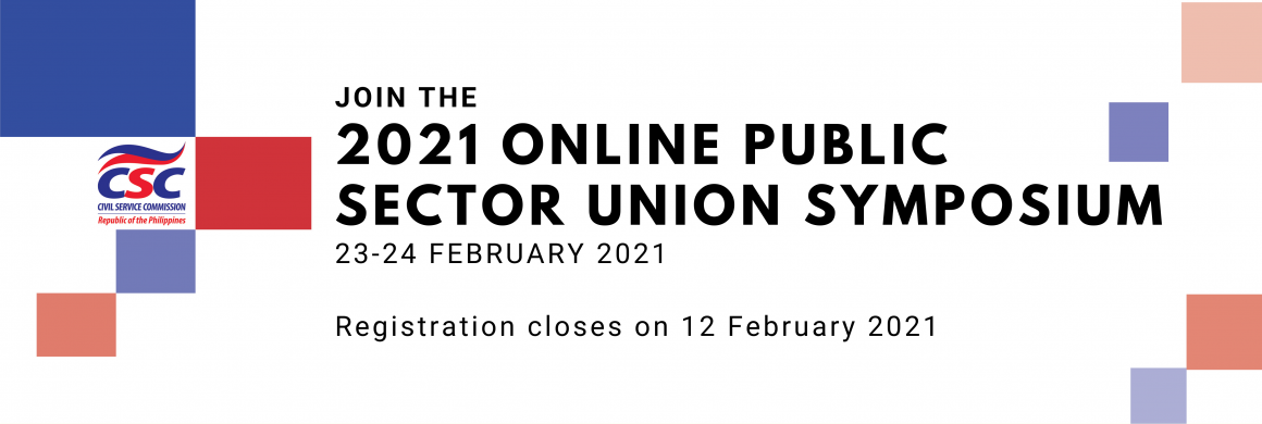 2021 Online Public Sector Union Symposium