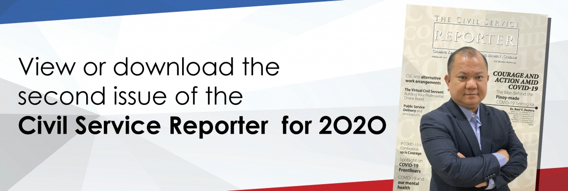 Second issue of the Civil Service Reporter for 2020