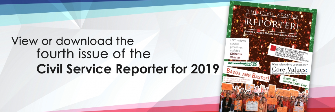 4th Quarter CS Reporter for 2019