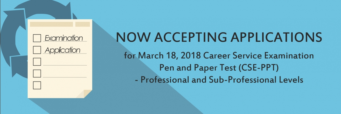 Application for March 18, 2018 CSE-PPT