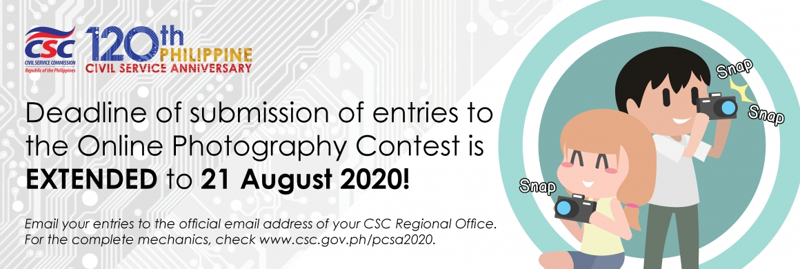 120th Philippine Civil Service Anniversary Online Photography Contest