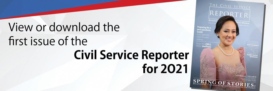 Civil Service Reporter 1st Quarter Issue 2021